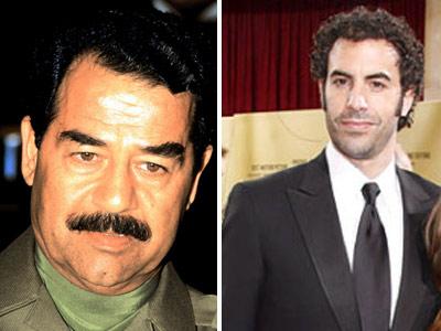 Sacha Baron Cohen il va juca pe Saddam Hussein