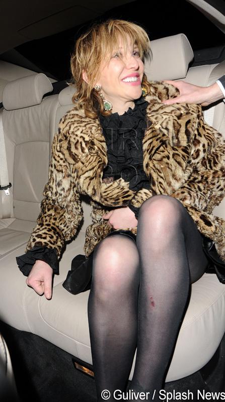 Courtney Love: Am salvat-o pe Kelly Osbourne cand era o drogata