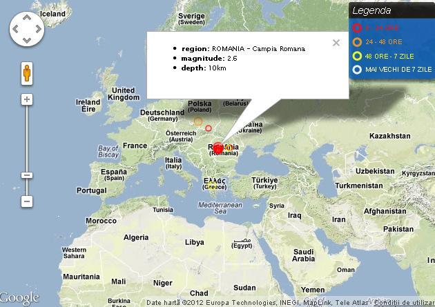 Inceput de an cutremurator. 23 de seisme in Romania, in decurs de doua zile