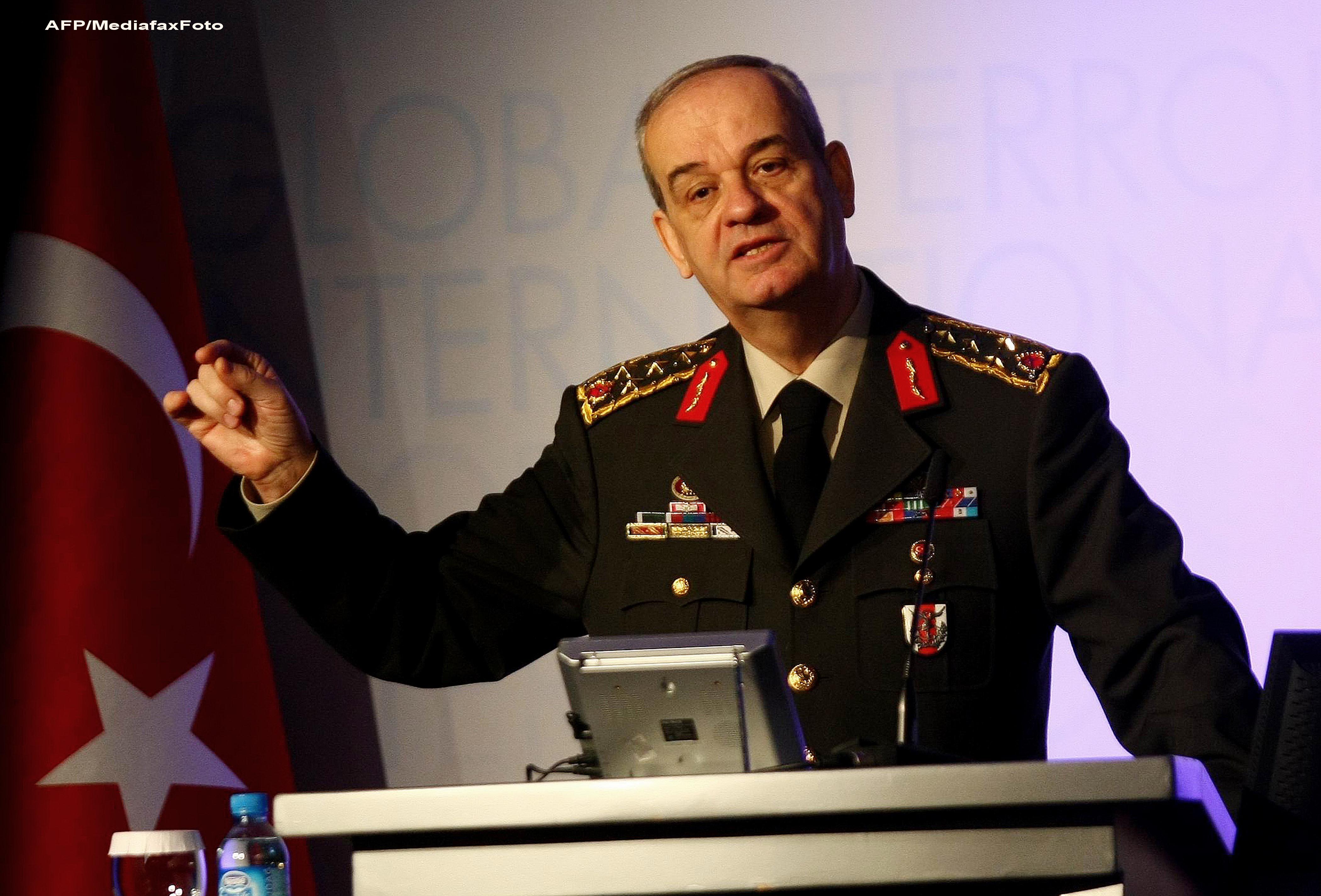 Scandal in Turcia. Fostul comandant al armatei, arestat pentru un complot de rasturnare a Guvernului