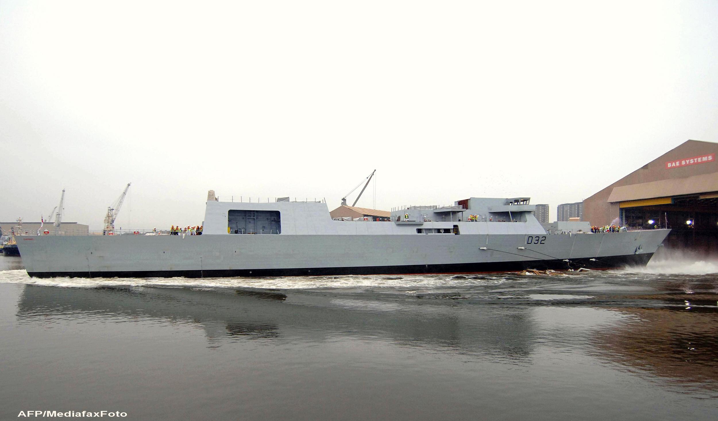Marina Regala Britanica trimite in Golful Persic cea mai PUTERNICA nava, gata sa lupte cu Iranul