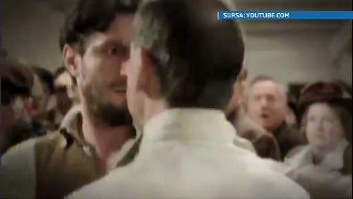 Dragos Bucur a dat din nou lovitura. Actorul roman joaca in mini-seria Titanic
