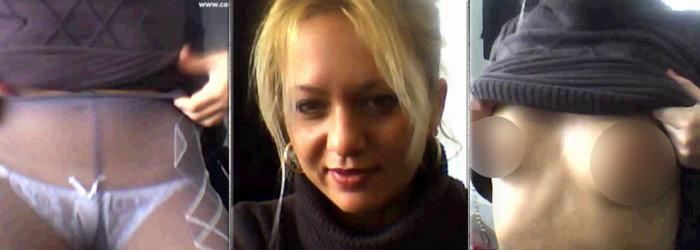 Show erotic pe bani publici. Angajata unei primarii din Romania, videochat in timpul serviciului