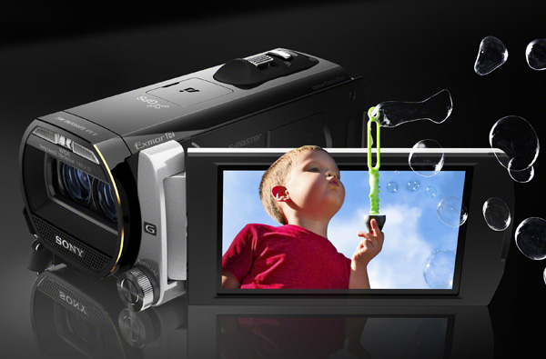 CES 2012: Cel mai compact camcorder 3D din lume - Sony HDR-TD20VE