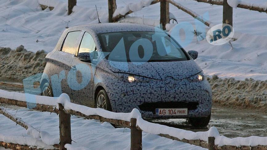 Prima Dacie electrica ar putea costa 15.000 de euro. FOTO SPION
