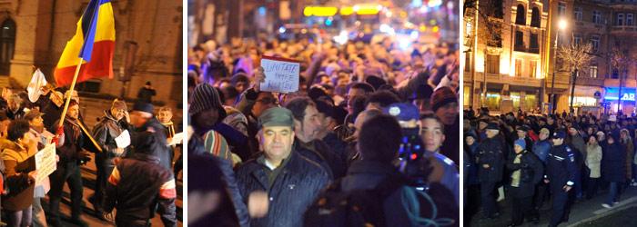 Protest pentru sustinerea lui Arafat. Barbat arestat dupa ce a incercat sa sara gardul Cotroceniului