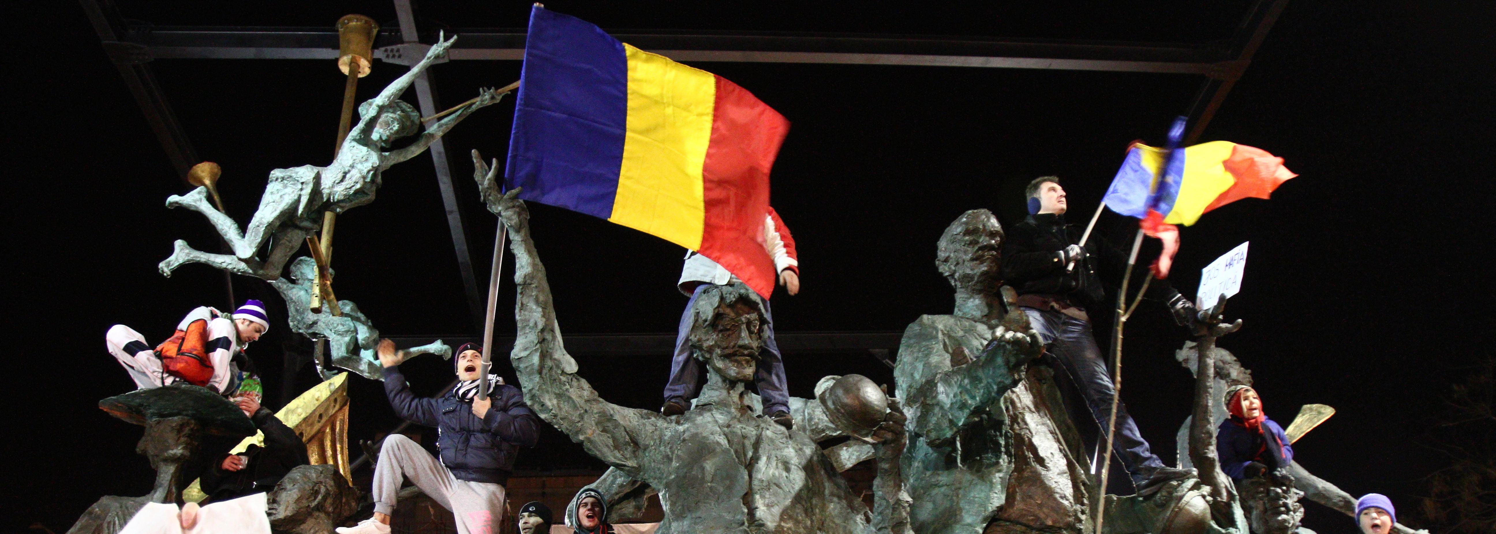 Imaginile violente pe care Romania nu le-a mai vazut de la mineriade. VIDEO si GALERIE FOTO