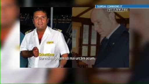 Comandantul de pe Costa Concordia a fugit ca un las: