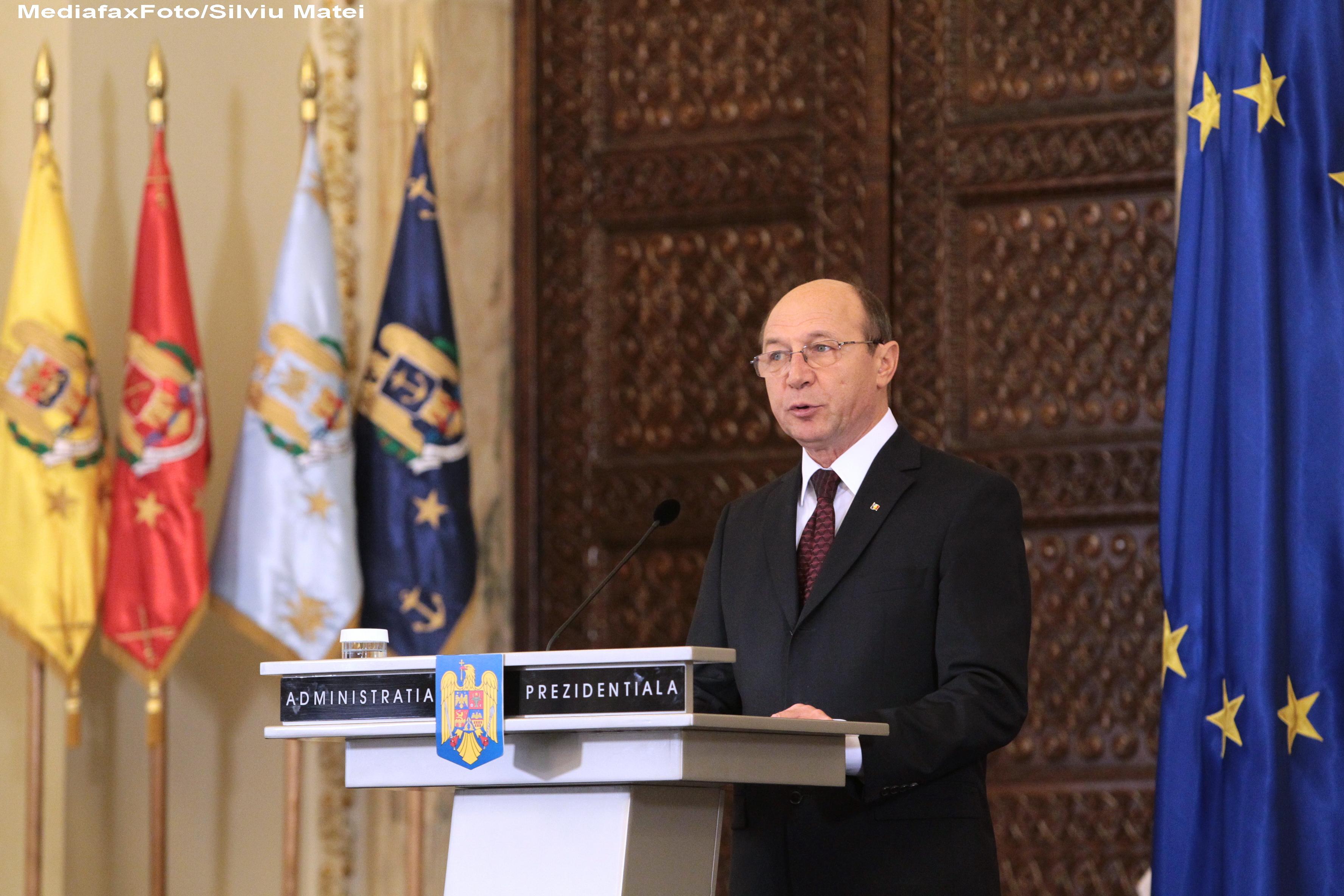 Ce le transmite romanilor presedintele Traian Basescu de Ziua Unirii