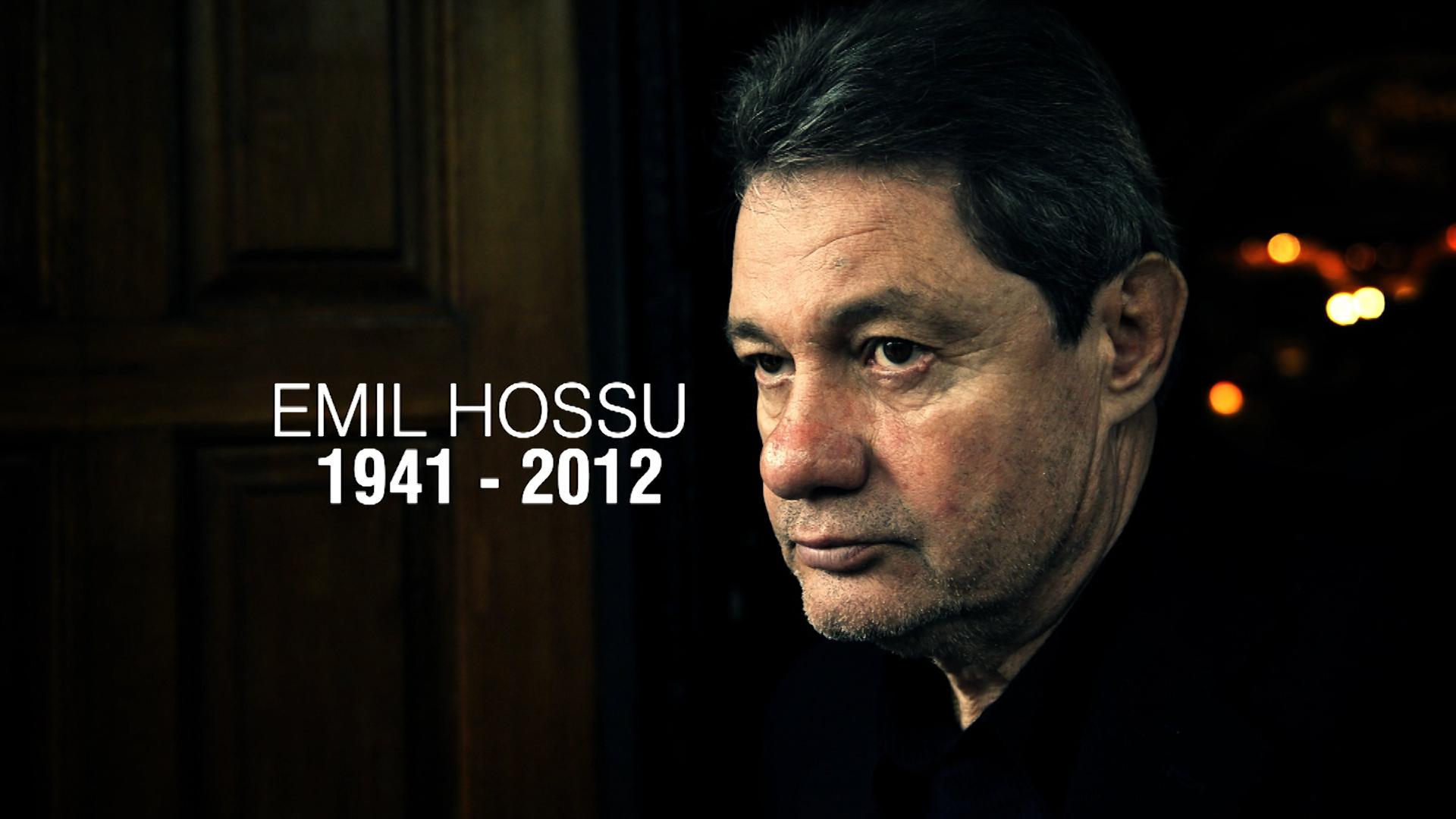 Actorul Emil Hossu a fost inmormantat sambata la Cimitirul Bellu din Bucuresti