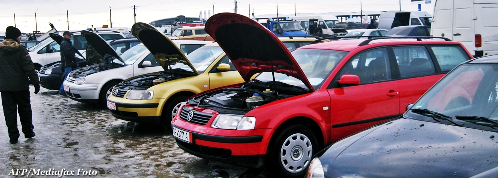 Guvernul: 2012 va fi anul cu cele mai slabe incasari din taxa auto de pana acum