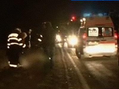 Doi soti in varsta de 30 de ani si-au vazut moartea cu ochii pe autostrada Arad - Timisoara
