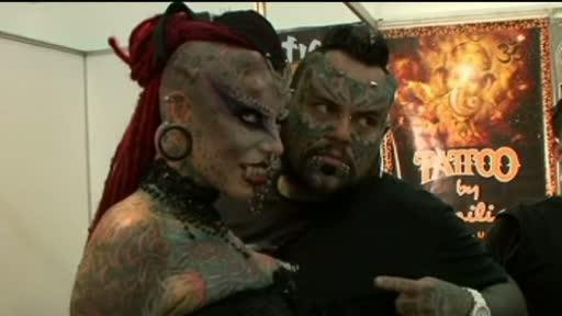 Festival inedit in Venezuela, dedicat celor pasionati de tatuaje si piercing