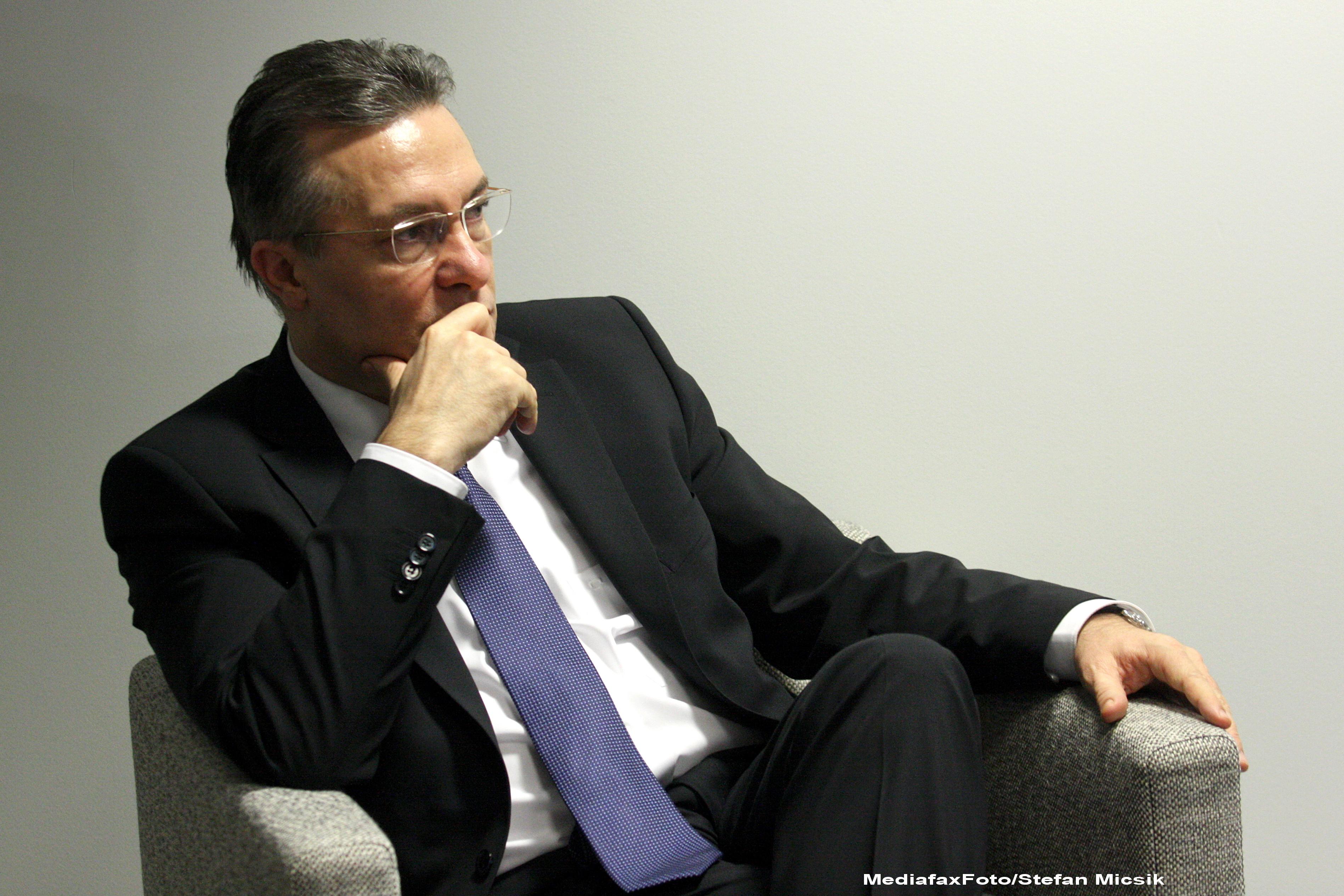 Cristian Diaconescu: Consider candidatura mea un angajament fata de tara, pe care am sa mi-l respect
