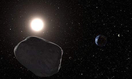 Asteroidul Apophis se apropie de Terra. Este mai mare decat estimasera astronomii