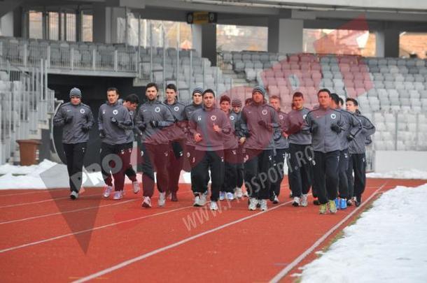 U se pregateste pentru Steaua in Antalya