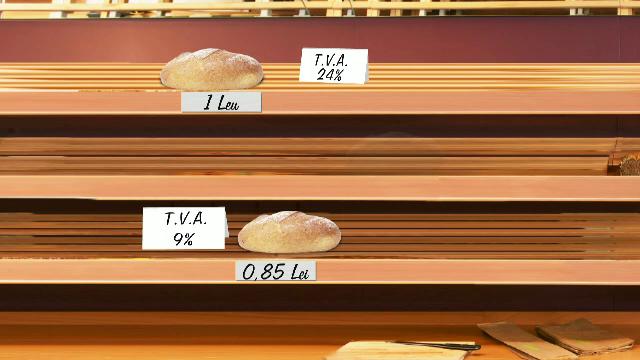 TVA va fi redusa la paine in septembrie. Impactul, compensat cu accize la alcool si bunuri de lux