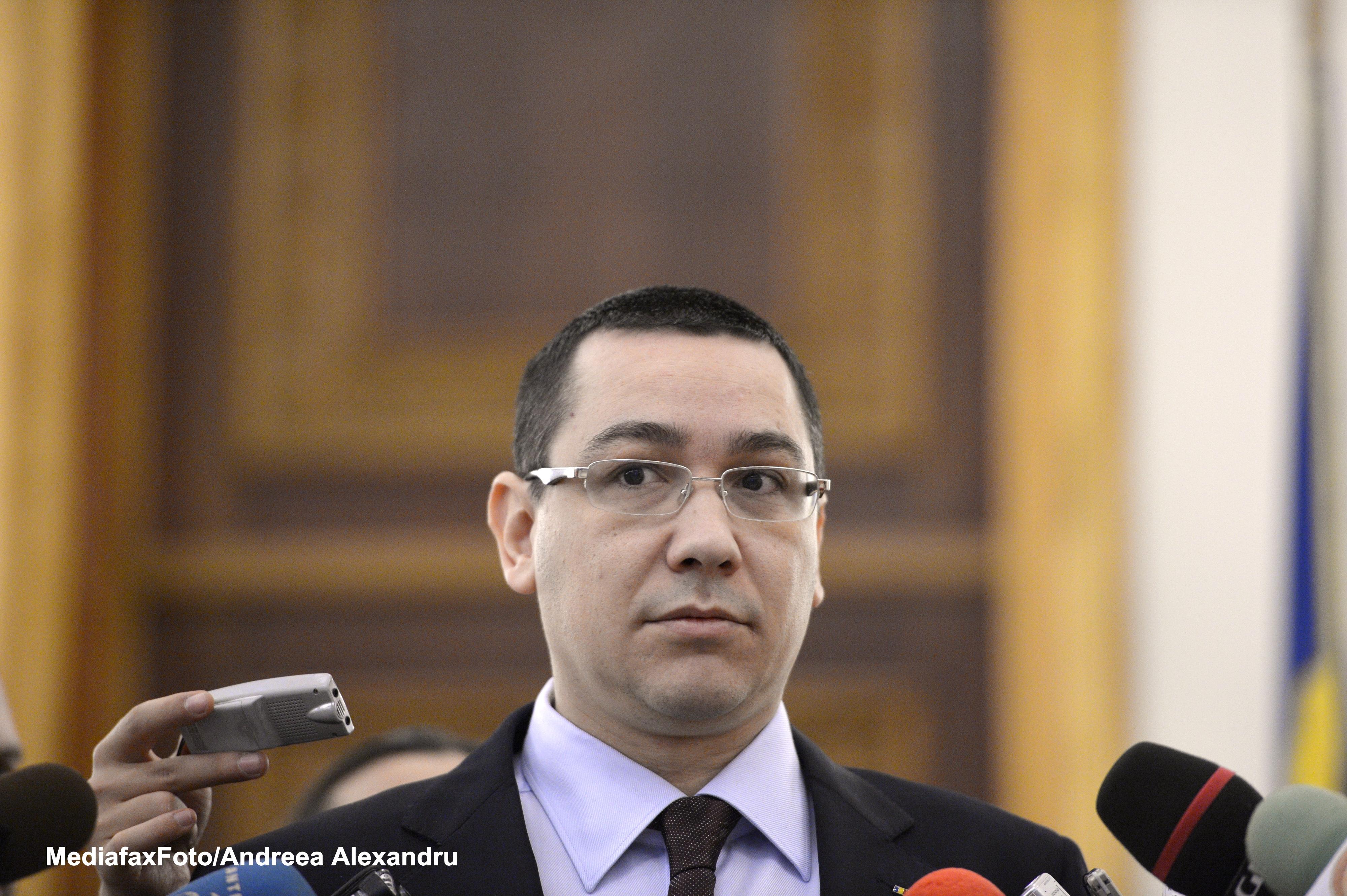 Victor Ponta: Contractul de privatizare a CFR Marfa ar putea fi semnat luni