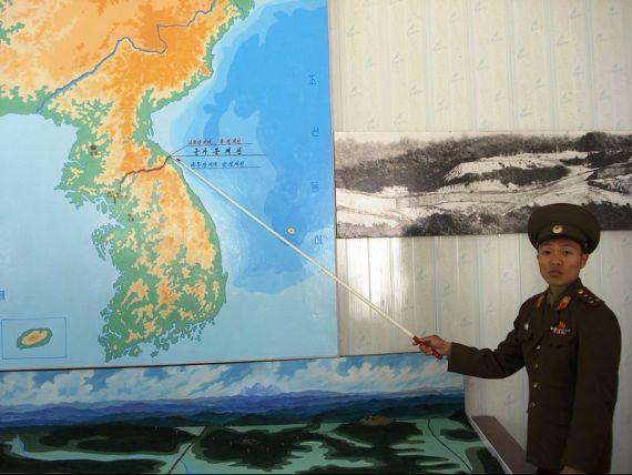 Coreea de Nord ameninta cu un atac nuclear