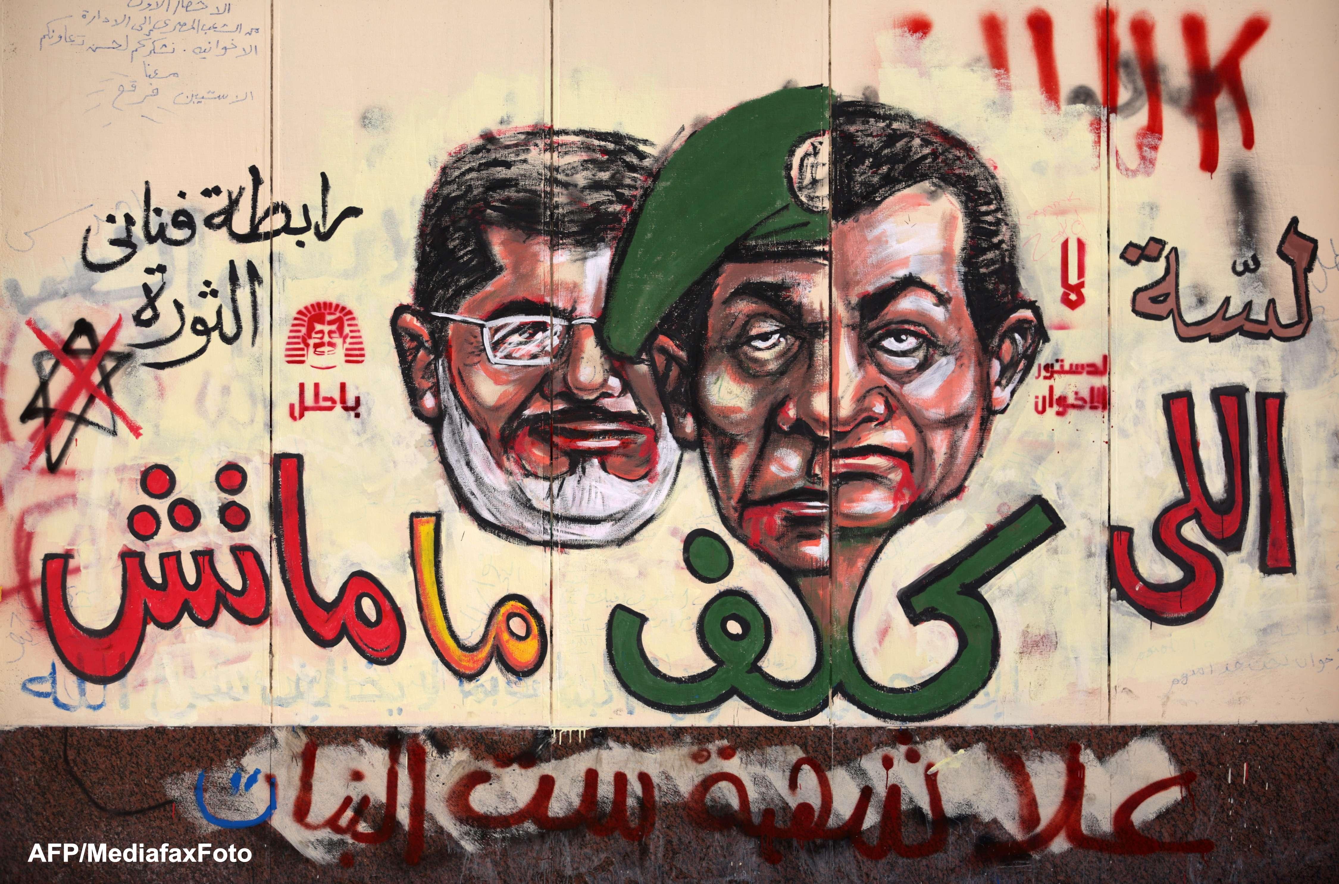 Principalele evenimente din Egipt de la preluarea puterii de catre Mohamed Morsi