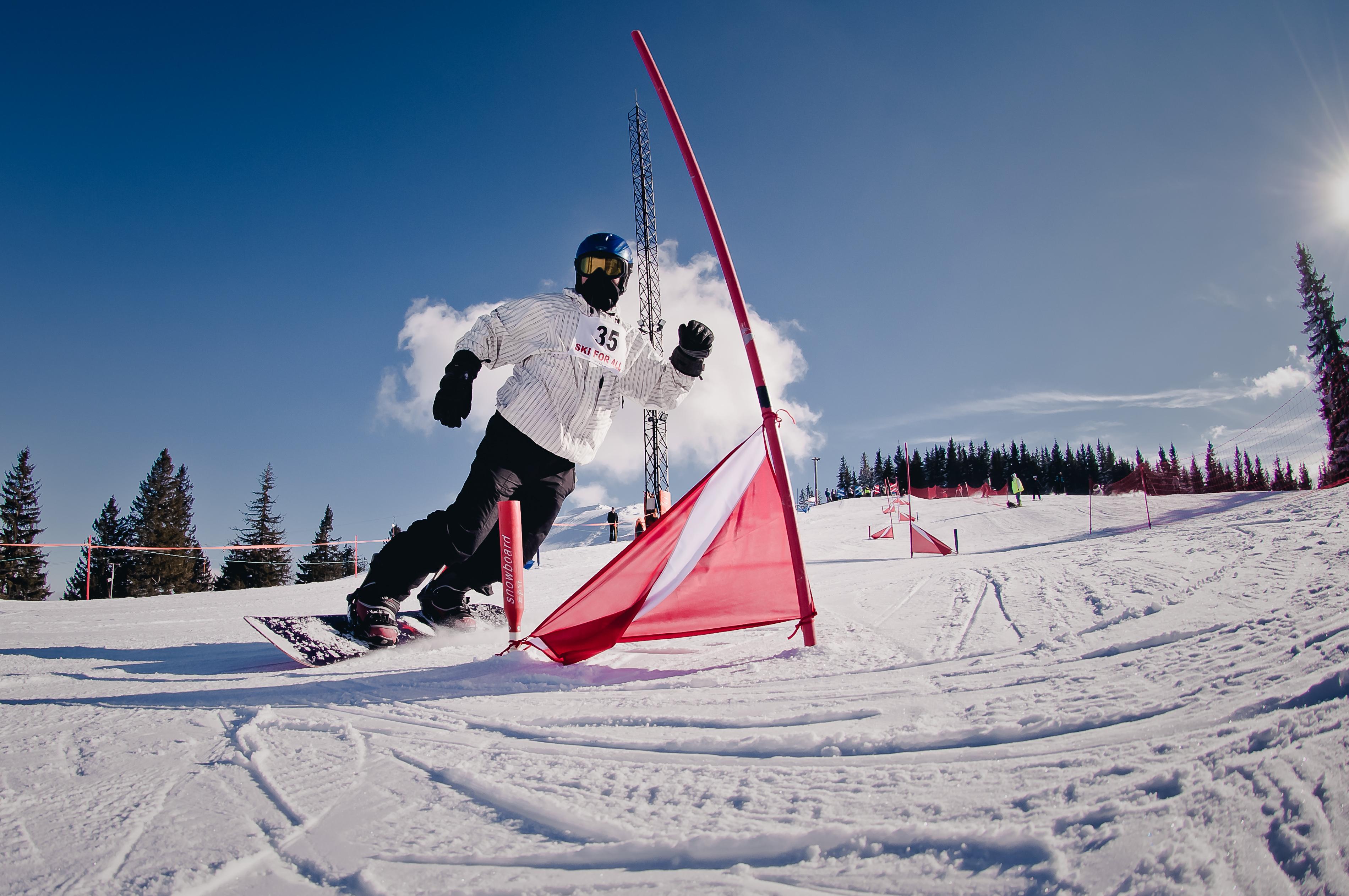 Concurs de slalom