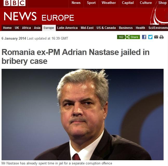 Ce scrie presa internationala despre condamnarea lui Adrian Nastase