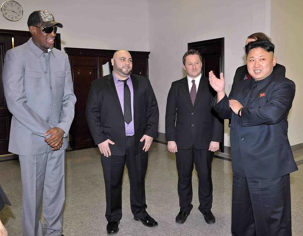 Dennis Rodman: Unchiul lui Kim Jong-un traieste,