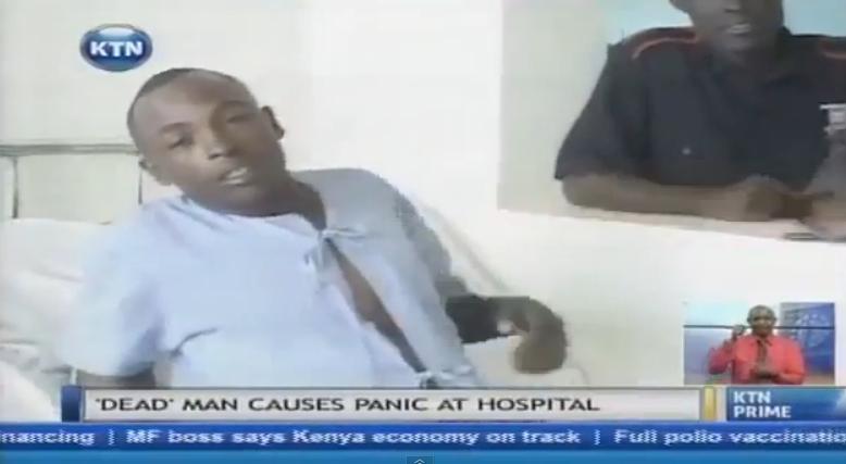Un barbat din Kenya, declarat mort, a