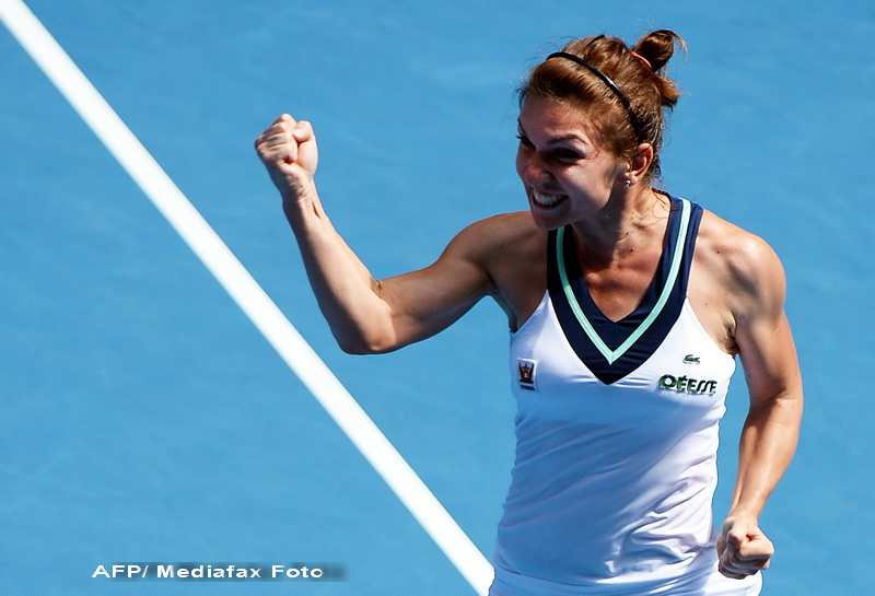 Simona Halep a invins-o pe Eugenie Bouchard in optimile de finala la Indian Wells. Cu cine va juca in sferturi