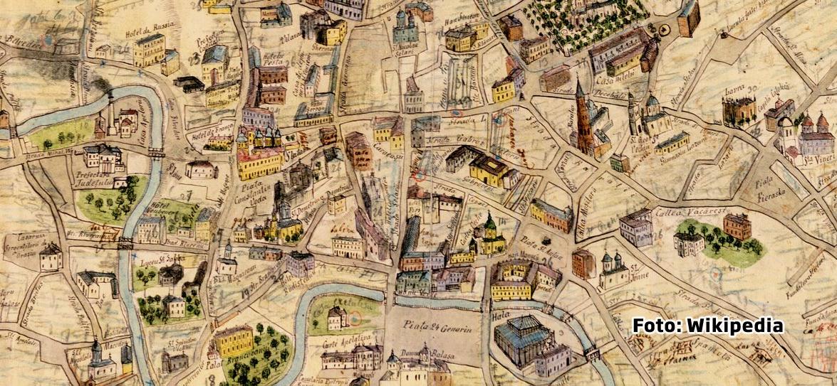 Cum aratau Bucurestii acum un secol si jumatate. Imaginile surprinse de primul fotoreporter de razboi din lume