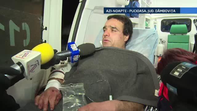 Situatie neobisnuita in muntii Bucegi. In plina iarna, un cabanier a fost atacat de un urs