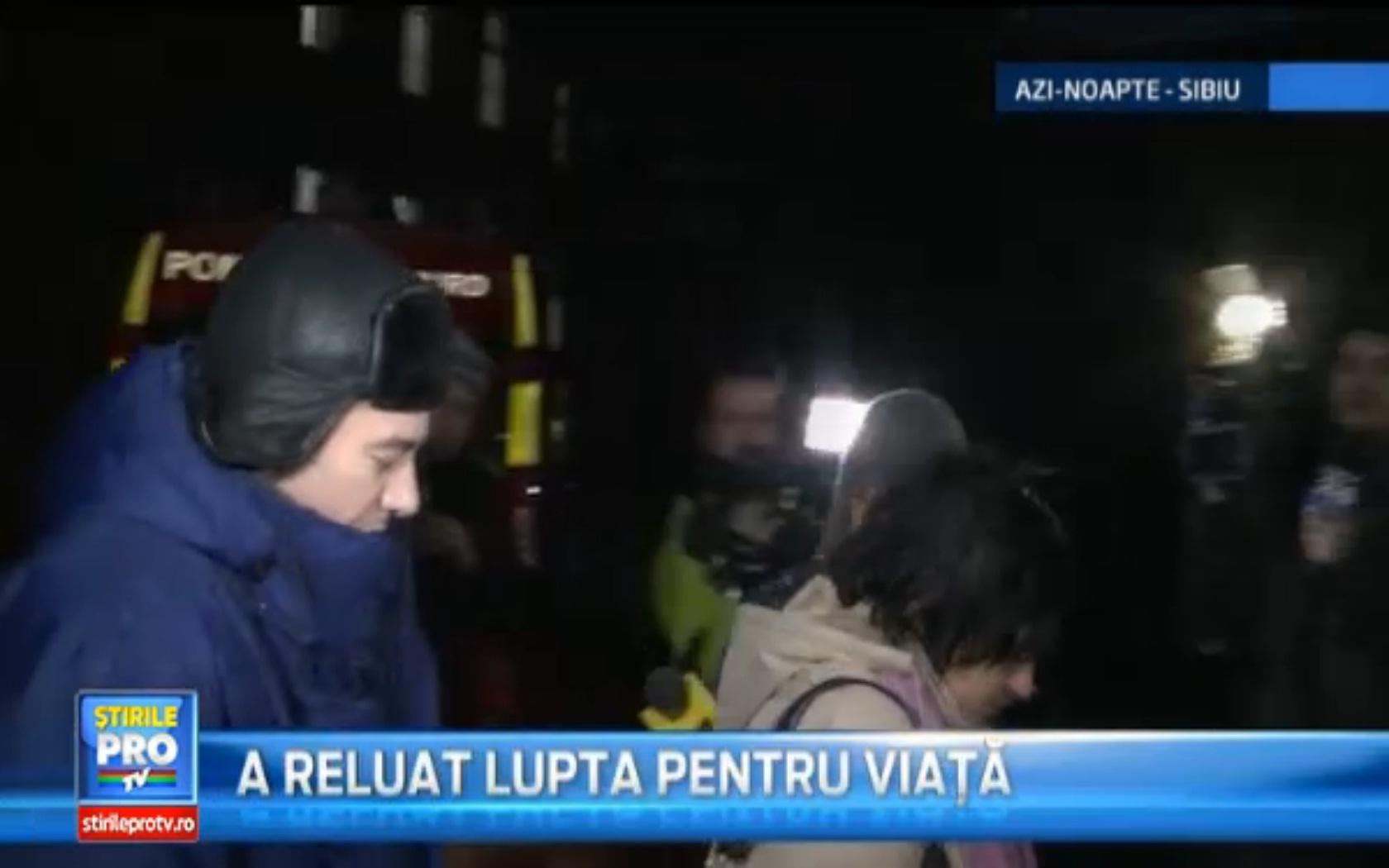 Medicul Radu Zamfir a inceput din nou lupta pentru salvarea de vieti omenesti, la Sibiu