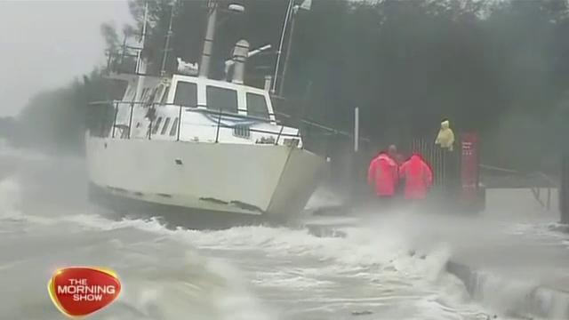 Ciclonul tropical Dylan a lovit coasta de nord a Australiei. Cel mai afectat oras. VIDEO