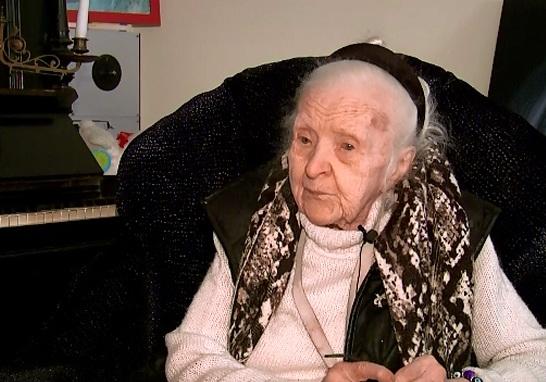 Ce isi doreste pictorita Medi Wehsler Dinu la varsta de 106 ani: Faceti tot ce va sta in putinta ca sa aveti o viata frumoasa