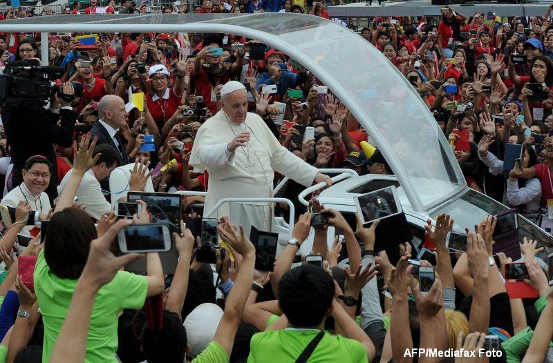 Guvernul din Filipine a ascuns sute de persoane fara adapost inainte de vizita Papei Francisc: