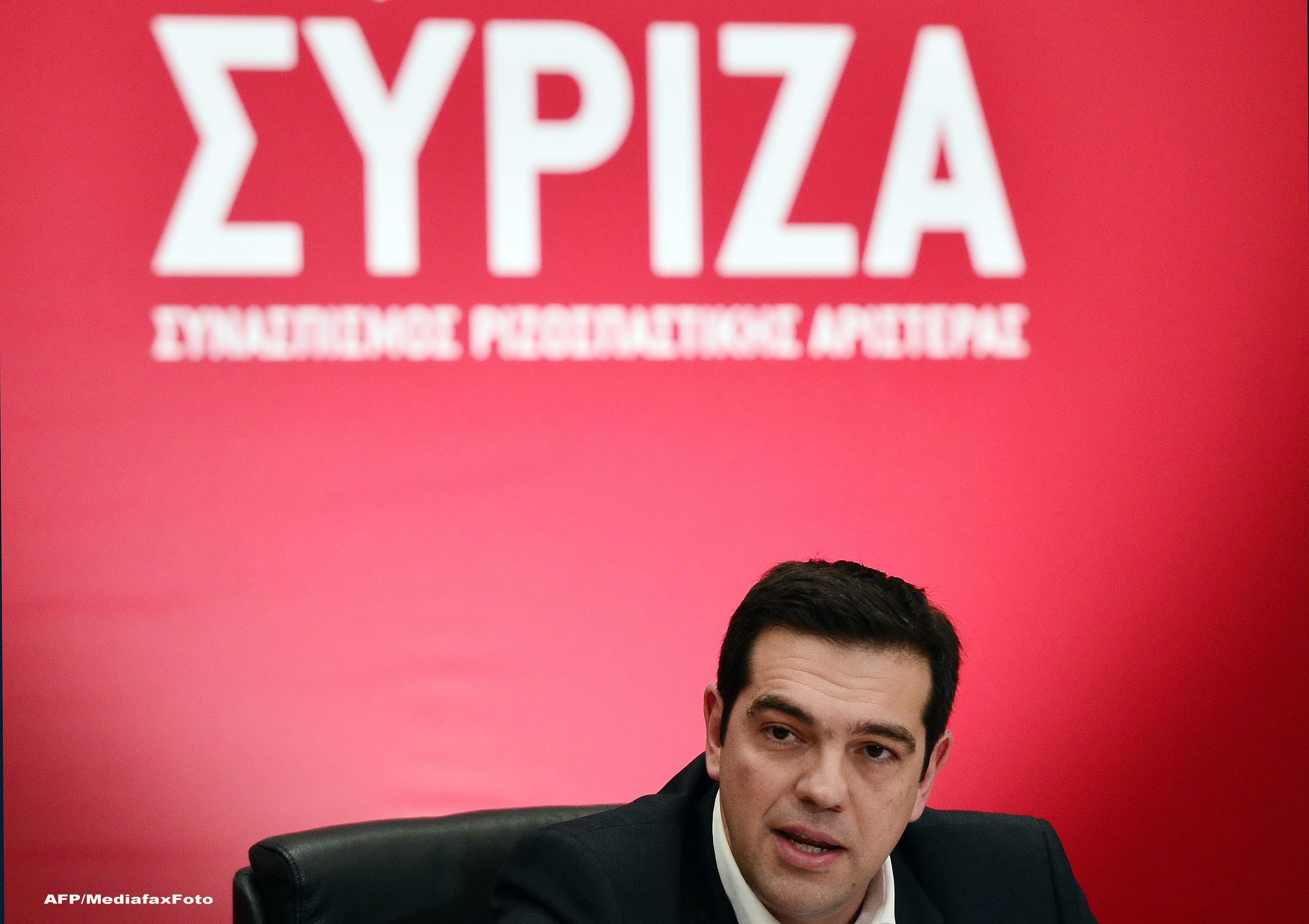 Alexis Tsipras e convins ca Spania si Portugalia comploteaza impotriva guvernului elen: Vor sa ne inlature de la putere