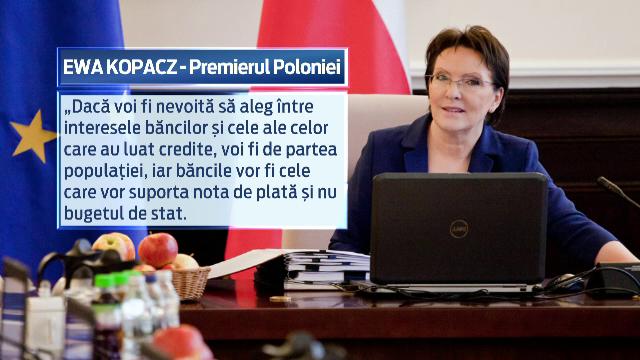 Masura la care ar putea recurge Polonia, tara afectata de criza francului elvetian: