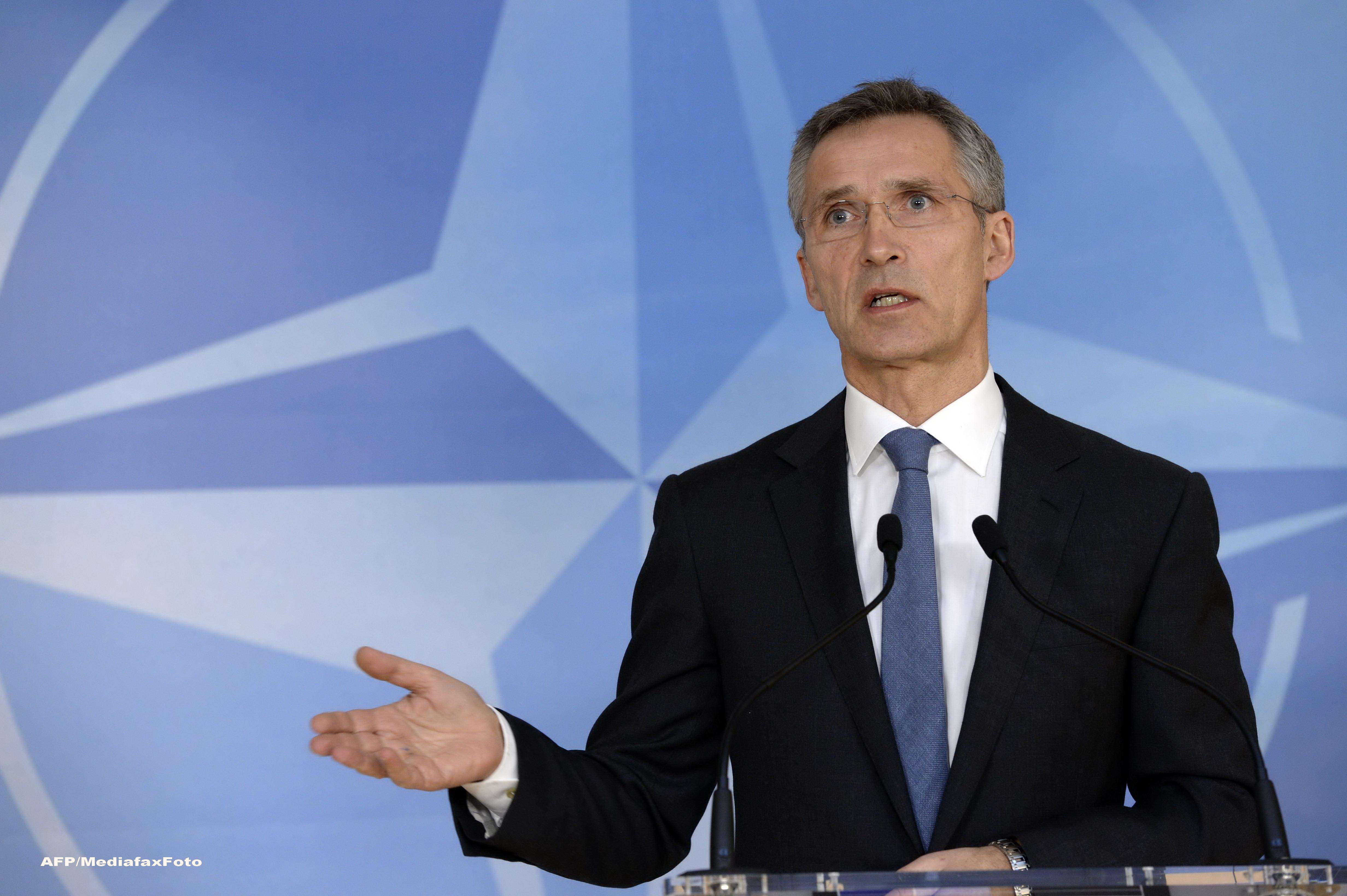 Secretarul General NATO, Jens Stoltenberg: Nu exista inca un risc imediat pentru Romania si Bulgaria din partea Rusiei