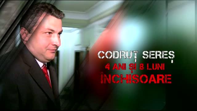 Codrut Seres, condamnat definitiv la 4 ani si 8 luni de inchisoare. Fostul ministru a fost incarcerat la Penitenciarul Rahova