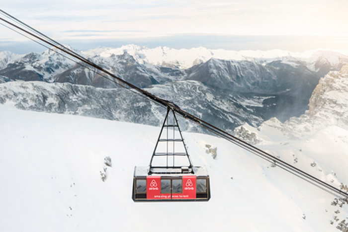 Cum arata camera suspendata la peste 2.500 de metri altitudine, amenajata in Alpii francezi