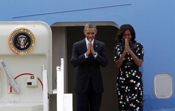 Michelle Obama si esarfa lipsa. Controversa din spatiul online dupa vizita Primei Doamne in Arabia Saudita