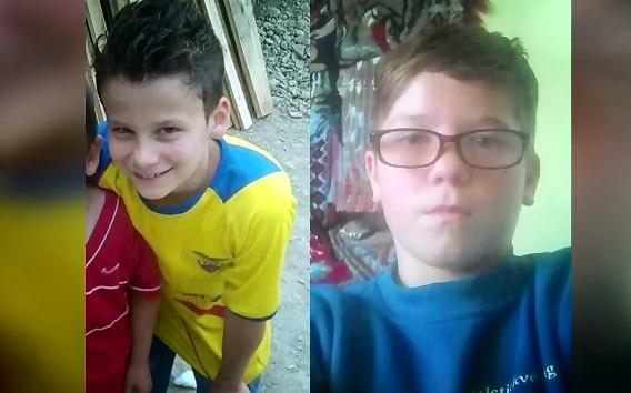 Nicio urma de cei doi baieti disparuti in urma cu 8 zile, la Sighisoara.