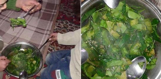 Copiii mananca frunze, iar un kg de faina costa 100 de dolari. 40.000 de oameni risca sa moara de foame in Madaya, Siria