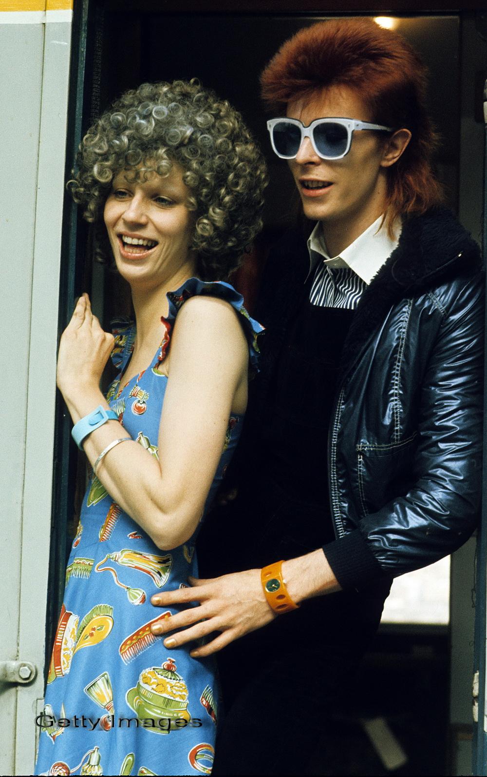 Prima sotie a lui David Bowie, concurenta in