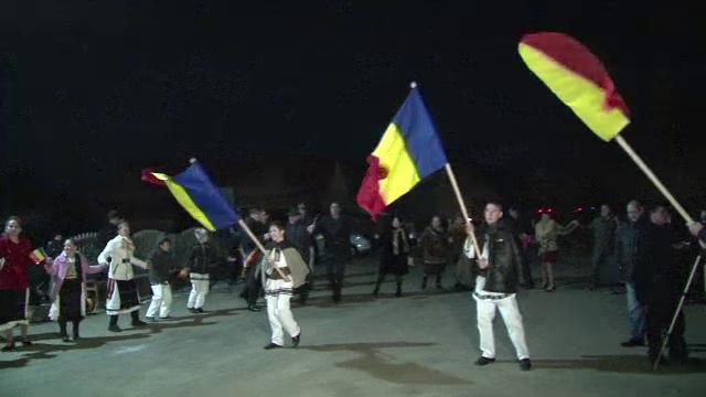 Vechiuri obiceiuri, reinviate in Bistrita-Nasaud pentru a sarbatori Ziua Unirii.