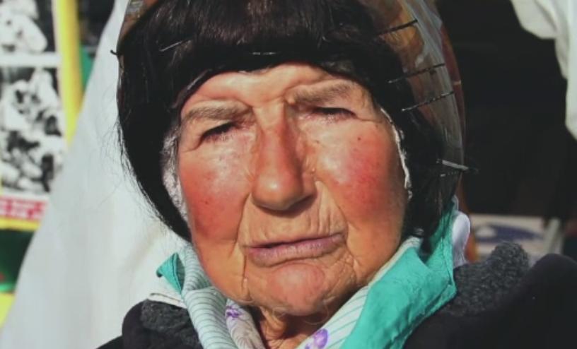 Cea mai infocata protestatara din SUA a murit la varsta de 80 de ani. Conchita venea aproape zilnic in fata Casei Albe