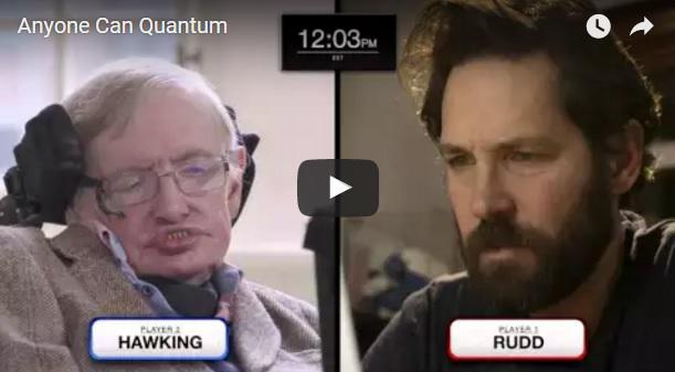 Actorul Paul Rudd la o partida de sah cu Stephen Hawking. Cine iese castigator: VIDEO