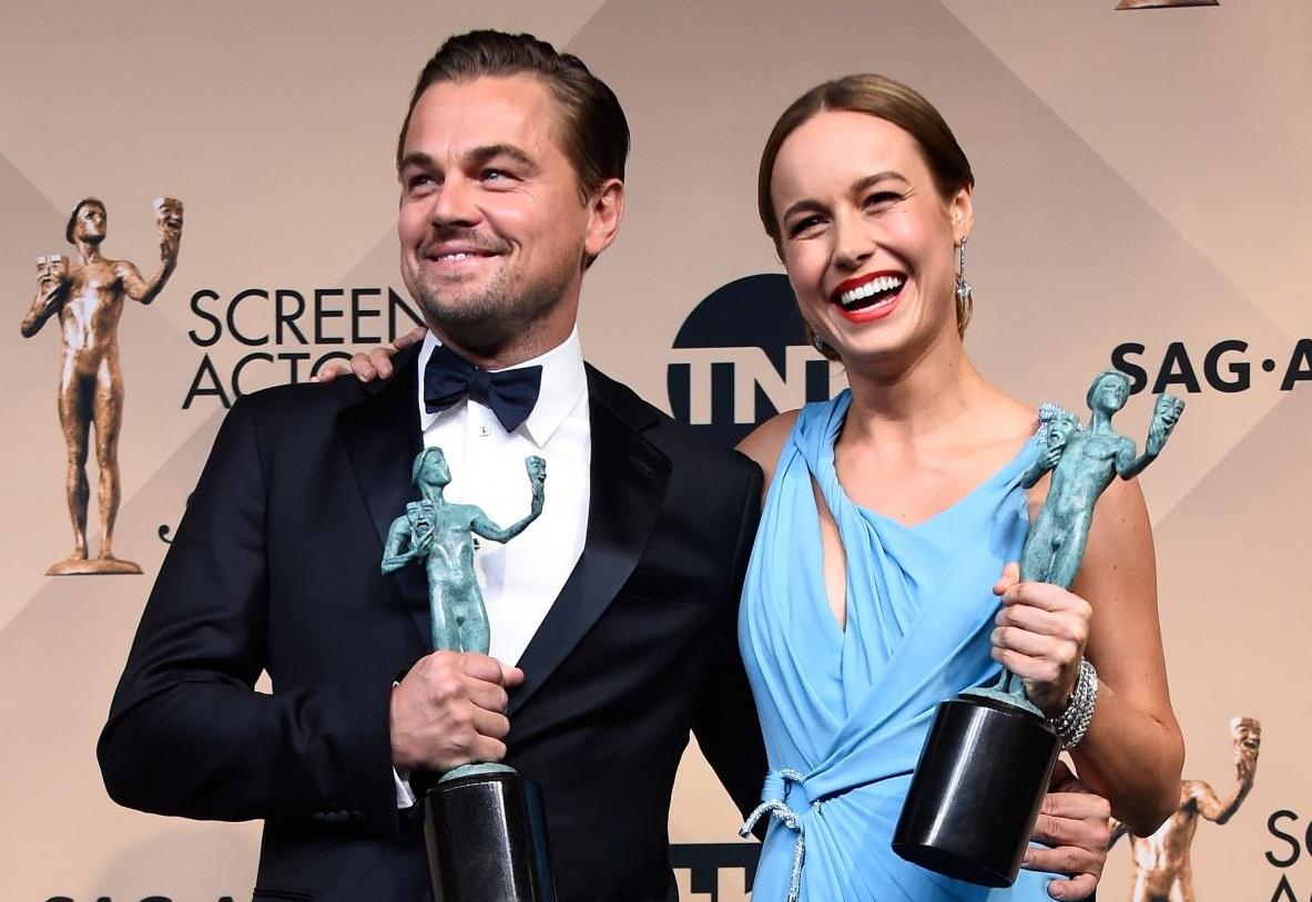Leonardo DiCaprio si Brie Larson, marii castigatori de la premiile SAG. Filmul considerat cel mai bun din 2015