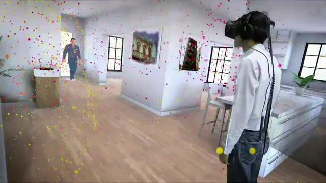 Dadaca virtuala si patutul care leagana copilul cand plange, la CES 2017