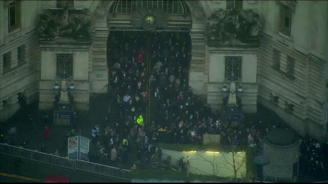 Londra a fost paralizata din cauza unei greve la metrou. Angajatii ar urma sa fie